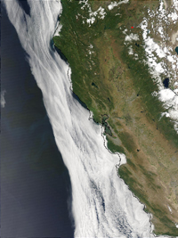 California - MODIS (May 23, 2003)
