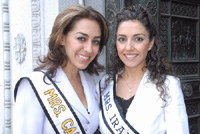 Iranian American Beauty Queens: Shally Zomorodi & Samira Houshiar - Los Angeles - by QH (March 16, 2007