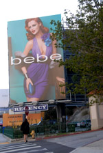 Billboard on Sunset Blvd. - by QH