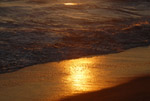 Malibu Beach at Sunset by QH