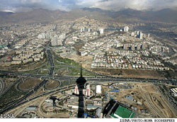 Milad Tower, Tehran - ISNA