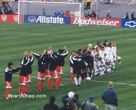Soccer Diplomacy: US-Iran draw 1-1 at the Rose Bowl, by QH - January 16, 2000