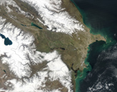 Azerbaijan March 2003 (NASA)
