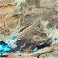 Dasht-e Kevir  Landsat 7 (October 24, 2000)