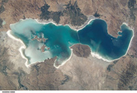 Lake Urmia - NASA (August 23, 2002)